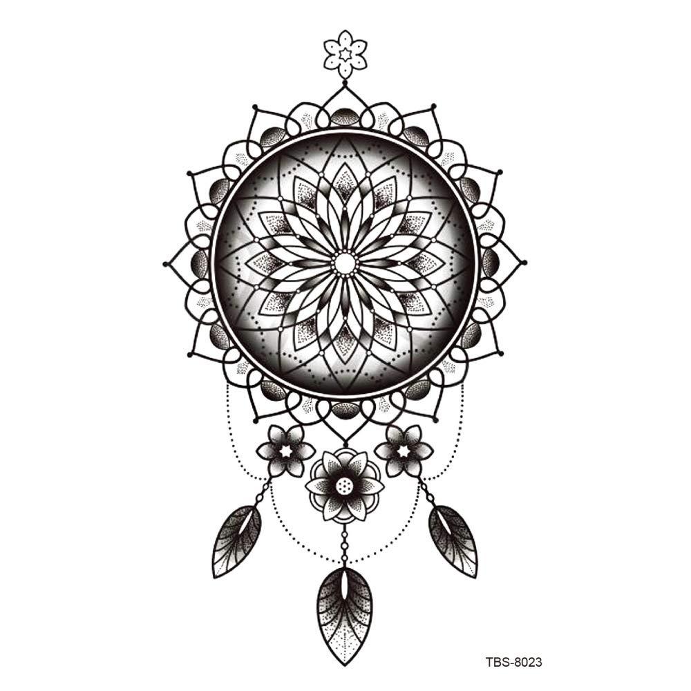 Modeganqing 5 Piezas símbolo de tótem Pegatinas de Tatuaje a ...