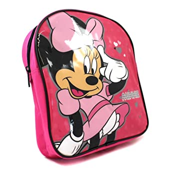 730671f463b Disney Minnie Mouse Small Backpack Nursery School  Amazon.co.uk ...