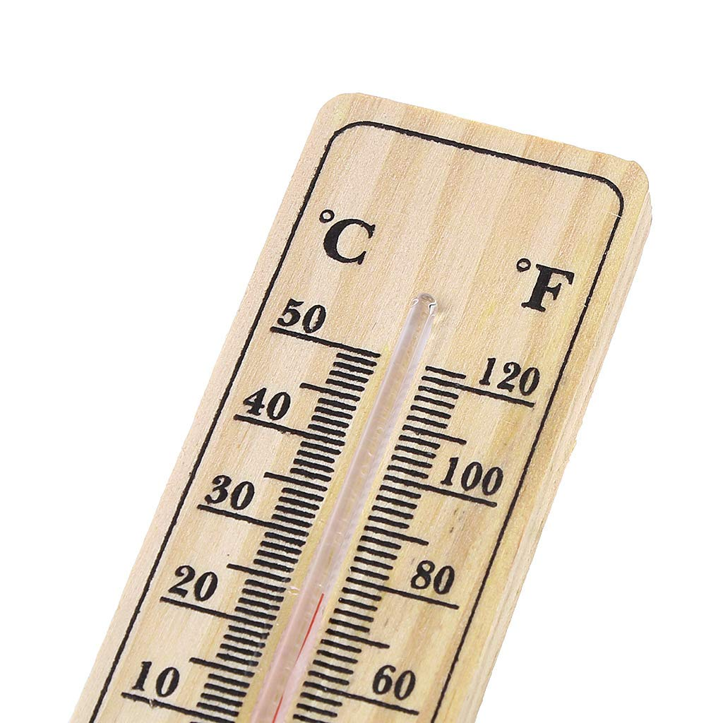 Wall Thermometer  Indoor Outdoor Hang Garden Greenhouse House Office Room