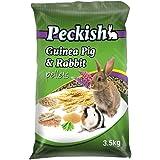Peckish Guinea Pig and Rabbit Pellets, 3.5kg