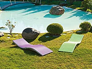Profer green tumbona aluminio verde profer green for Amazon tumbonas piscina