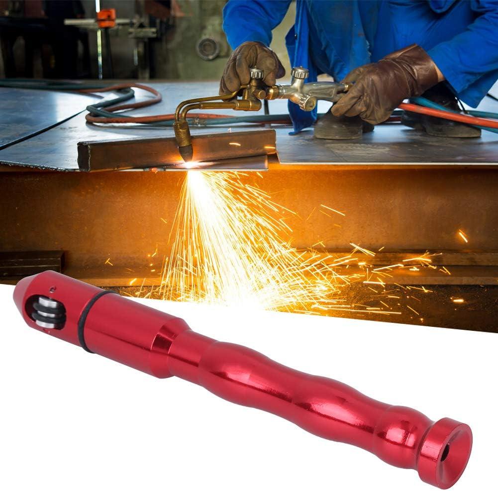 Welding Feed Pen AMONIDA Black Applicability Ergonomic Structure Welding Wire Process Pen High Efficiency Welding Feeder for Industrial Supplies red