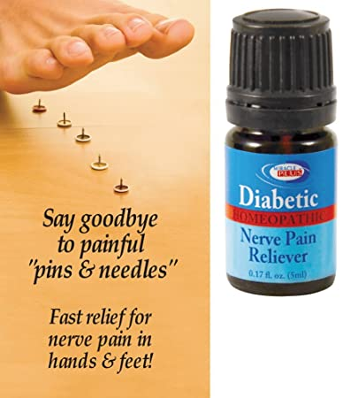 Amazon Com All Natural Homeopathic Diabetic Nerve Pain Reliever