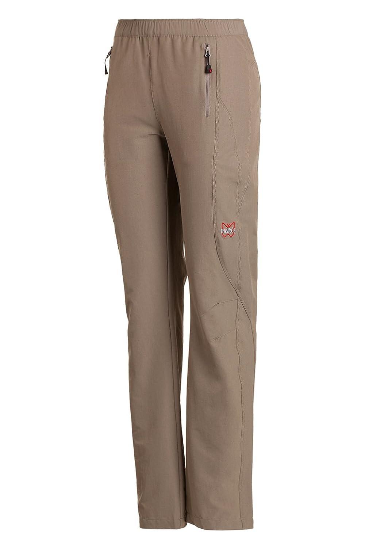 Mello's - Pantalón Easy Lady, Pantalón Elástico ideal para Senderismo Montaña Excursionismo