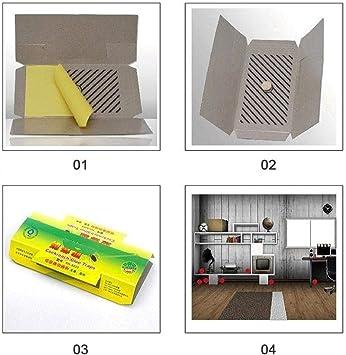 5PCS Trampa para plagas Trampa para cucarachas Trampas de polilla de despensa premium Captura de balsa pegajosa Trampa de pegamento pegajoso para polillas de alimentos y armarios en su cocina: Amazon.es: Hogar