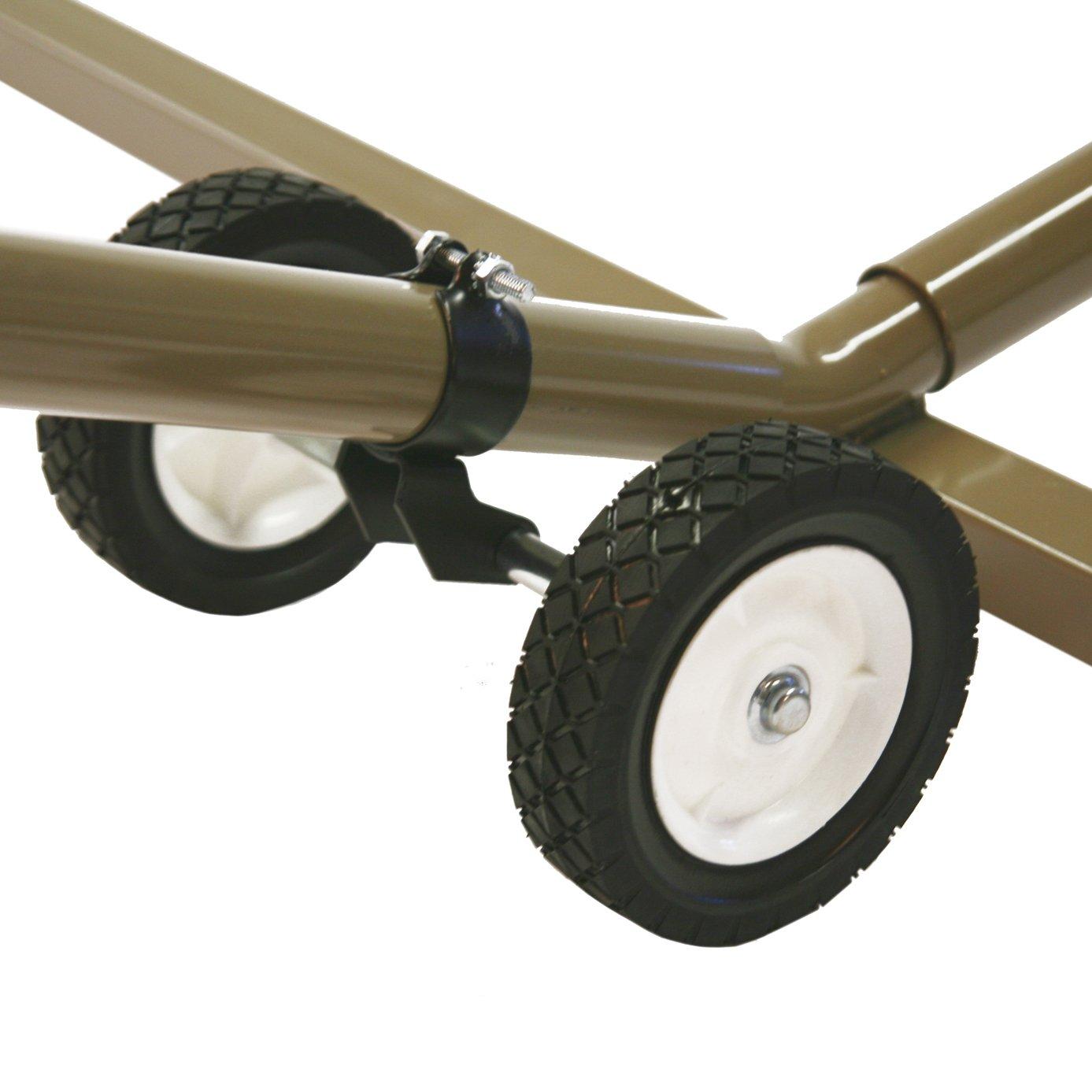 Algoma 7809BL Wheel Kit for Model #4780 Hammock Stand by Algoma
