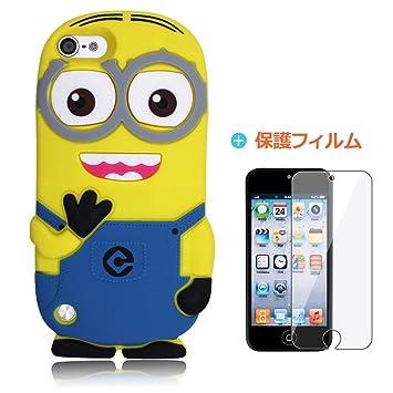 1c4f9678be Amazon | iKuma Apple iPod Touch 5 専用 怪盗グルーのミニオン危機一発 ...