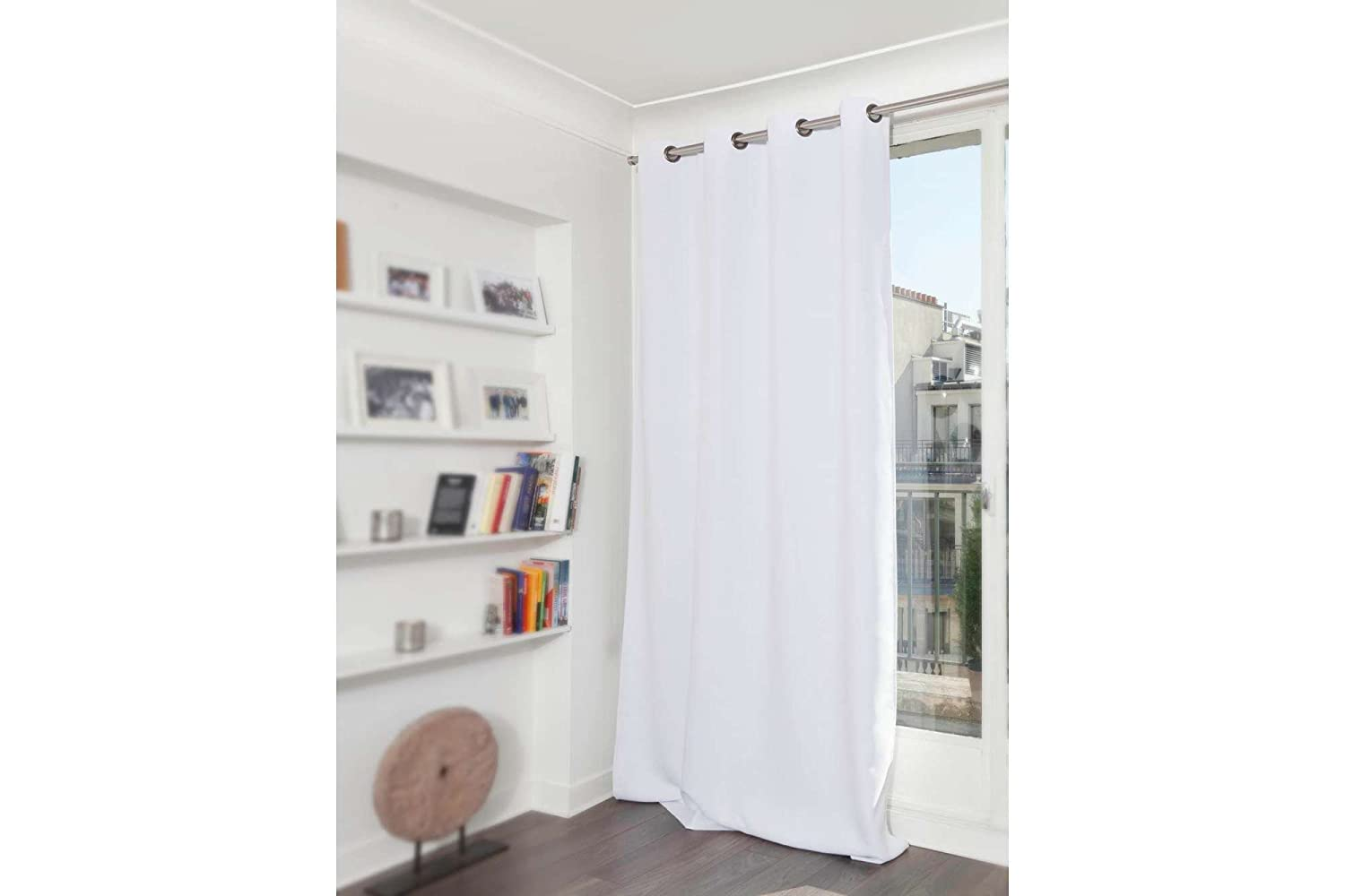 Soundproof curtains - Amazon Com Moondream Soundproof Curtain 3 In 1 Sound Blackout Thermal Insulation Patented Technology 57wx63l Inch White Snow Mc720 Grommet