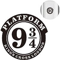 """NiceButy 1pc Wall Sticker Platform 9 3/4 Harry Potter Thème Décor Sticker mural en vinyle autocollant 8,7""""x8.9"""" pouces pour Décoration Porte Nice Room cadeau"""