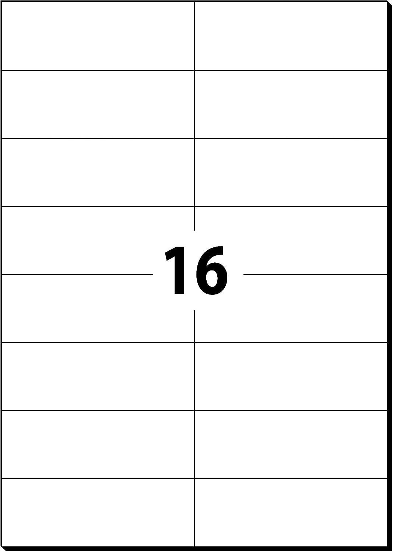 bianco SIGEL LA115 Etichette universali 2400 et.=100 fg. A4 64.6x33.8 mm