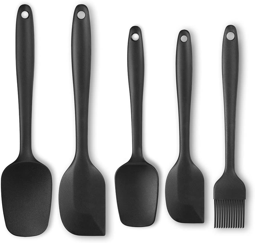 Details about  /Silicone Spatula Set Heat Resistant Rubber Turner for Cooking Baking Cake