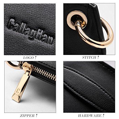 Women's Black 4 Designer Handbag Sale Handle Tote Purse Shoulder Ladies Leather Bag Top Clearance Hobo Bag Spvwg