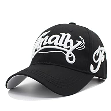 YANGYANGLE Women/Men Snapback Bone Hats Gorras Fashion Embroidery Cotton Letter Baseball Caps