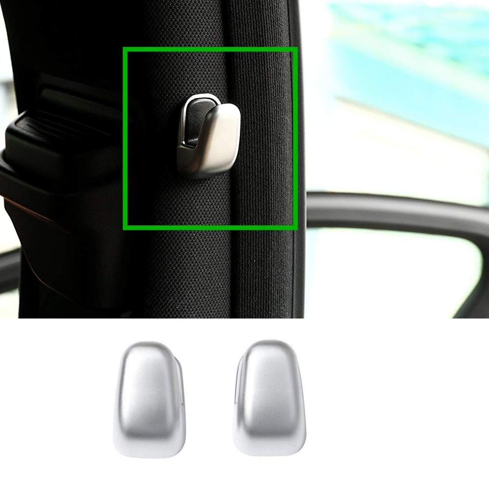 Pegatinas de gancho para pilar con diseño de coche ABS cromado en el interior, para clase E W212 S Clase W222 2013 – 2016 para clase E W212 S Clase W222 2013 - 2016 Luxuqo
