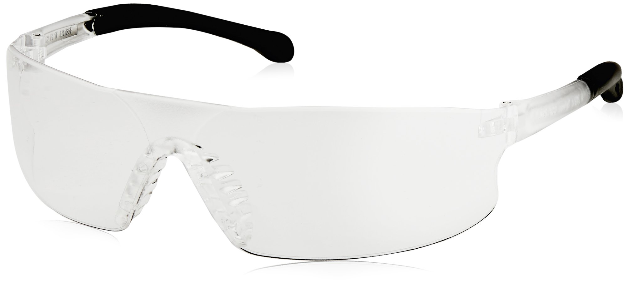 Radians RS1-10 Rad-Sequel Rubber Tipped Lightweight Glasses with Clear Lens