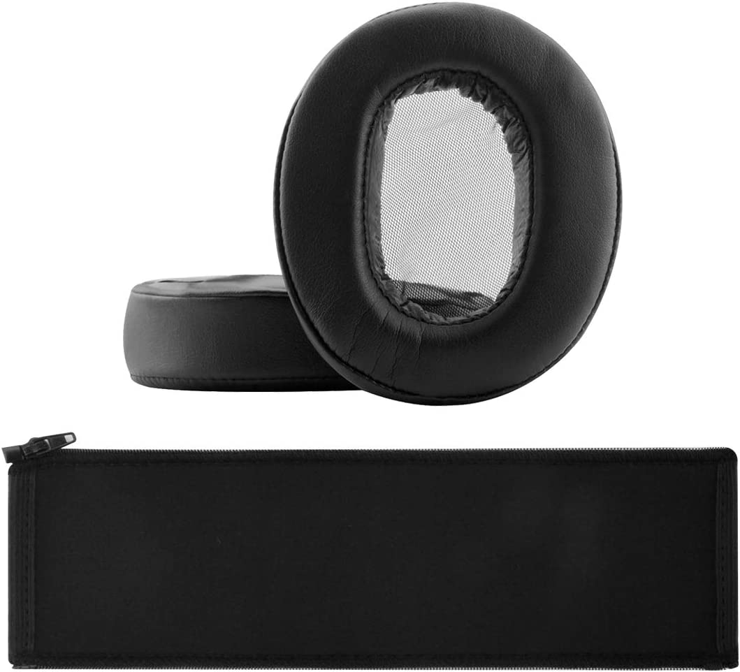 1A-DAC Earpad+Cover Geekria Replacement Earpad for Sony MDR-1A 1A-BT Headphone Ear Pad//Ear Cushion//Ear Cups//Ear Cover//Earpads Repair Parts