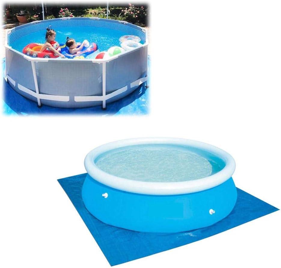 Alfombra protectora de suelo para piscina, impermeable, plegable, fácil de limpiar, apta para diversas piscinas hinchables, 274 * 274CM: Amazon.es: Hogar
