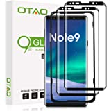 (2 Pack) OTAO Tempered Glass Screen Protector for Samsung Galaxy Note 9 3D Curved Dot Matrix with Easy Installation Tray…