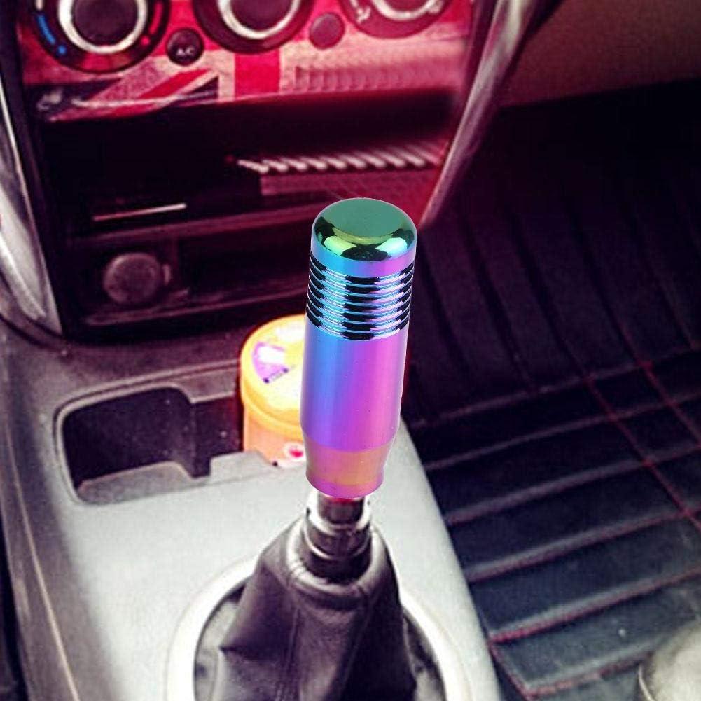 Gear Shift Knob 8.5cm Black Aluminum Alloy Car Manual Gear Shift ...