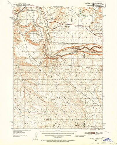 - Idaho Maps | 1949 Pasadena Valley, ID USGS Historical Topographic Map | Cartography Wall Art | 44in x 55in