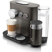 DeLonghi Nespresso Expert & Milk, Capsule Coffee Machine, EN355GAE, Grey
