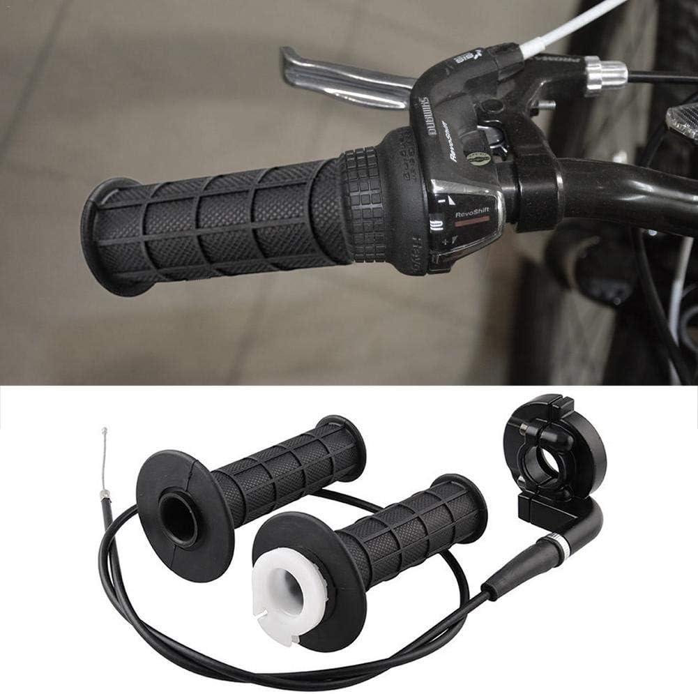 dream-cool /Moto Settle Twist Throttle Grips con Cable del Acelerador para 7//8 110-250CC Dirt Bike Motocross Eco Friendly