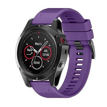 Señor Reloj Digital, sonnena Reloj de hombre reloj Sport Mujer Fitbit reemplazo correa de gel