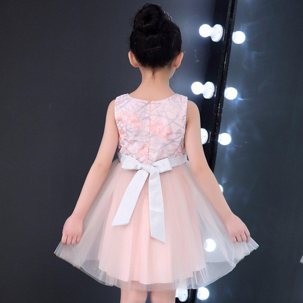 856c01d33 MM Vestido para niñas Vestido de Verano Vestido Falda de Malla ...