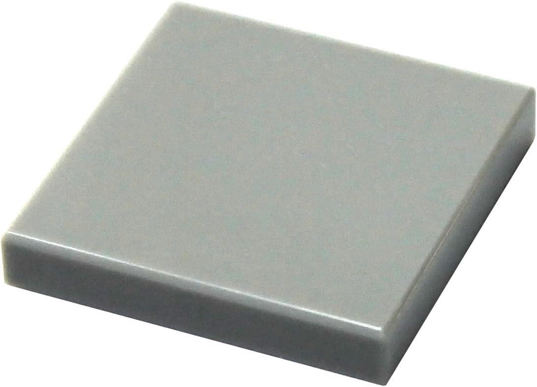 LEGO Parts and Pieces: Light Gray (Medium Stone Grey) 2x2 Tile x20