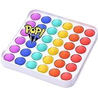 Simple Pop Fidget Toy,Push Toy,Bubble Sensory Toys Fidget Simple Dimple Toy Stress Relief Hand Toys for Kids Adults…