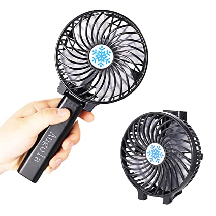 Household Appliances Mini Fan Super Mute Battery Small Light Compact Colling Fan Powered By Two Aa Batteries Handheld Operated Cooler For Cooling Available In Various Designs And Specifications For Your Selection
