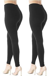 c056796e1f51e Premium Women's Fleece Lined Leggings - High Waist - Regular and Plus Size  - 20+