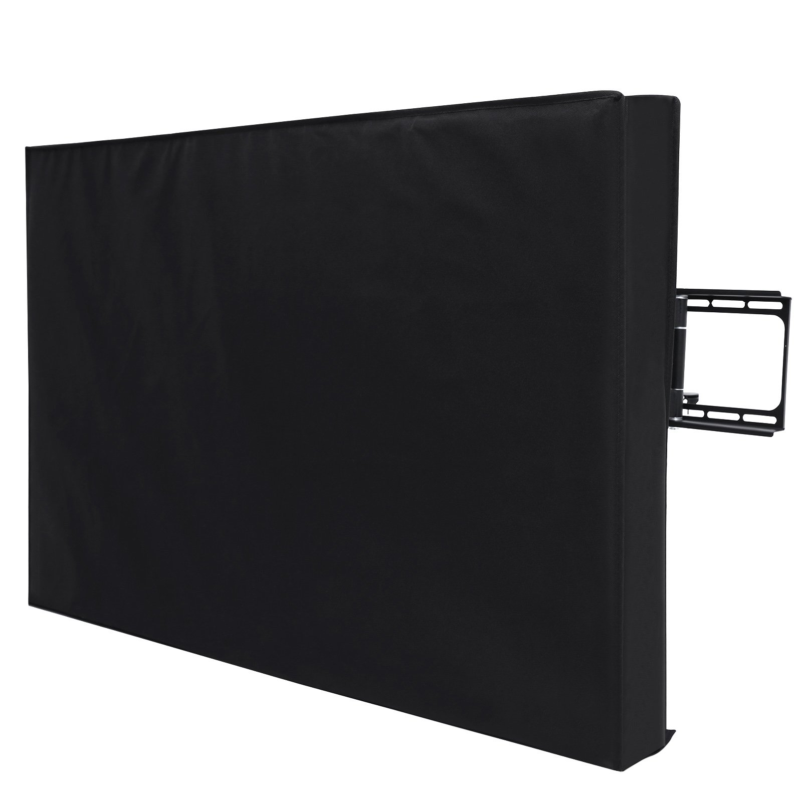 SONGMICS Outdoor TV Cover for 40- 43 Inch Wall Mounts TV, Weatherproof and Dustproof Black UGTR42B by SONGMICS