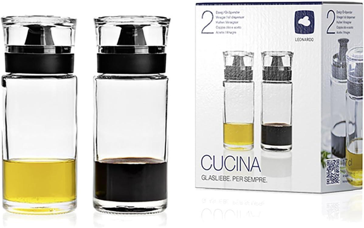 500 ml Dressing Mixer Leonardo Cucina Dressingshaker Materialmix Klarglas