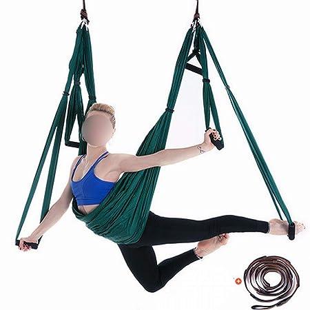 Ofliery Hamaca de Yoga aérea con extensión de crisantemo con ...