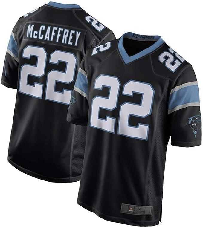 22# Christian Mccaffrey Jersey de Rugby para Hombre Jersey de ...