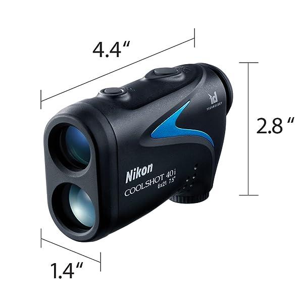 Nikon COOLSHOT 40i Golf Laser Rangefinder