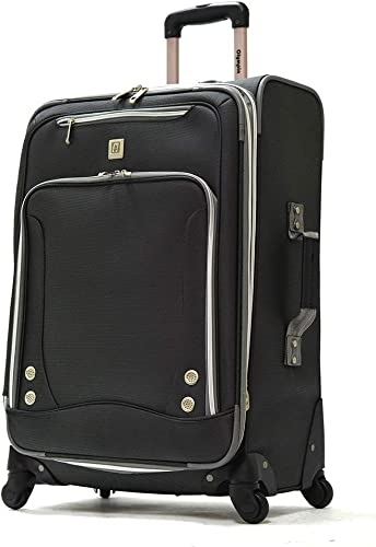 Olympia American Airline 22 Skyhawk Expandable Carry-on, Suitcase in Black