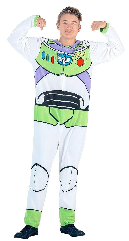 ea4f46d4d Amazon.com: Toy Story Buzz Lightyear Union Suit Costume Pajama: Clothing