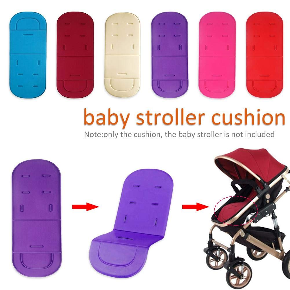 Reputedc Coussin infant poussette de siège de voiture Coussin en coton,coussin de siège de forme en mousse à mémoire ergonomique orthopédique Siège de sécurité, Respirant, résistant à la