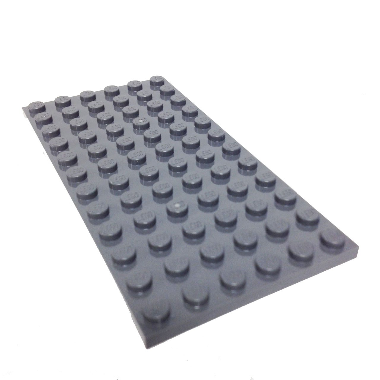 Lego Parts Plate 6 X 12 Dark Bluish Gray Toys Games Drawbridge Defense 7079