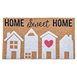 Design Imports Home Sweet Home Natural Brown 30 x 18 Inch Coir Welcoming Doormat