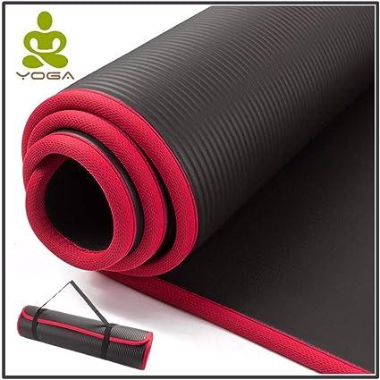 Amazon.com : Extra Thick NRB Non-Slip Yoga Mats for Fitness ...