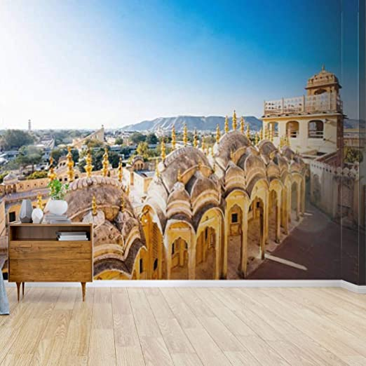Amazon Com Hawa Mahal Jaipur India Ceramics Of The Dome Stock Pictures Royalty Canvas Print Wallpaper Wall Mural Self Adhesive Peel Stick Wallpaper Home Craft Wall Decal Wall Poster Sticker For Living