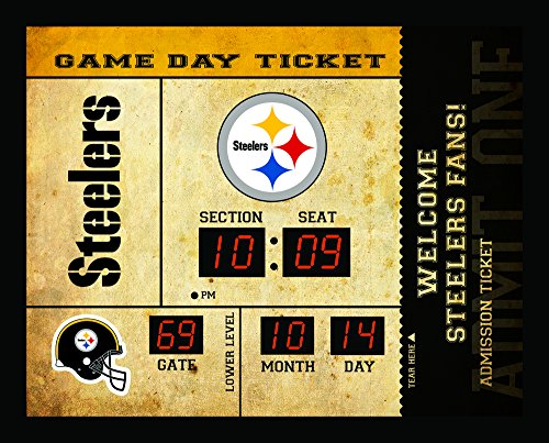 - Team Sports America Pittsburgh Steelers Bluetooth Scoreboard Wall Clock