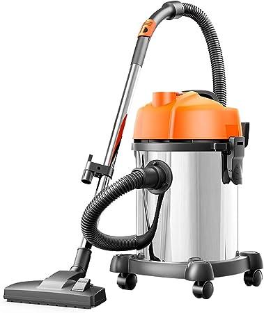 TY-Vacuum Cleaner MMM@ Aspirador Aspirador doméstico y Comercial Aspirador seco y húmedo Tres aspiradora de Barril de Alta Potencia de 1200 vatios 18 litros de Gran Capacidad con Rodillo Universal: Amazon.es: Hogar
