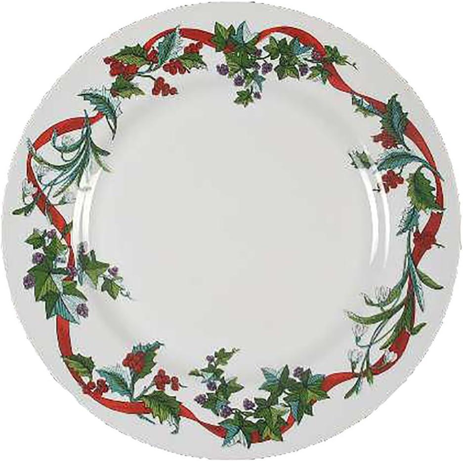 Martha Stewart Holiday Garden Dinner Plate