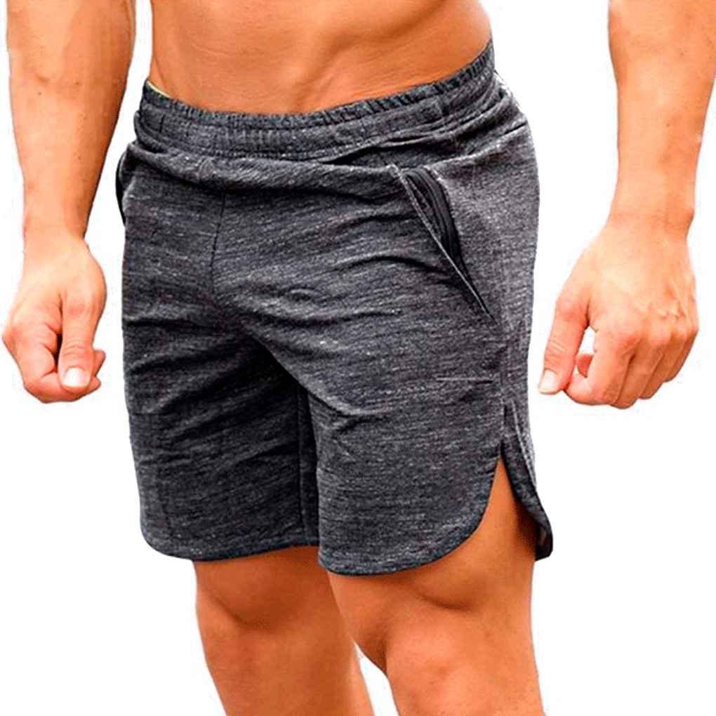 Minzhi Breathable Lose Sports M?nner Shorts Laufen Bodybuilding Kalb L?nge F¨¹nf Kurze Hosen Fitness Fitnessstudios Hosen