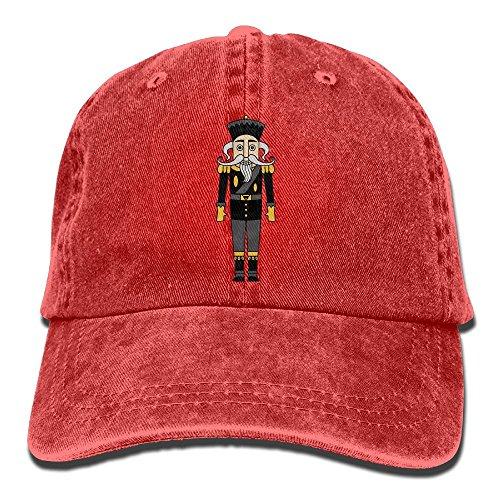 Retro Fitted Hat Cap (Leo Baseball Caps Retro Ballet Nutcracker Adjustable Fitted Hats For Men)