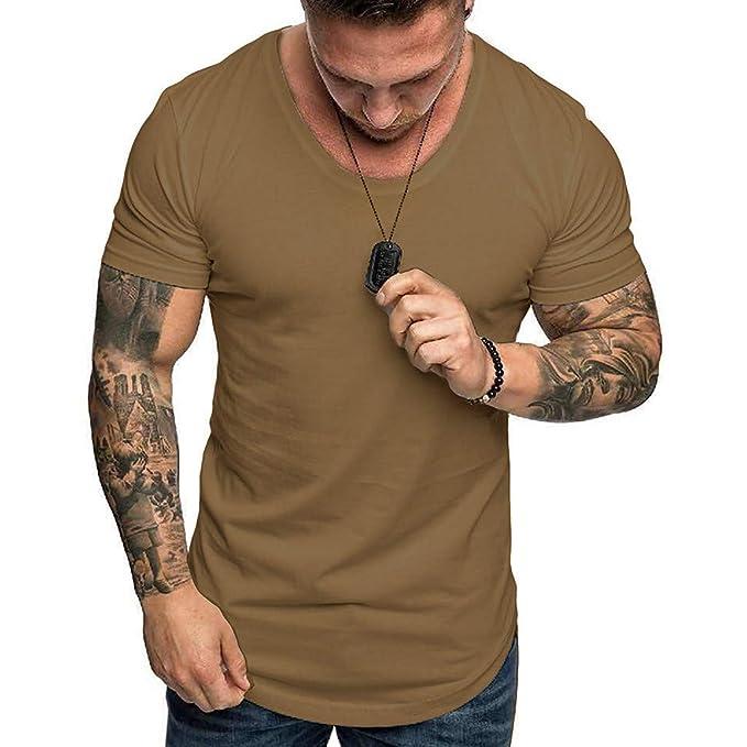 Long Sleeve Men/'s Crew Neck Zipper Casual Tops Shirts Slim Fit Skinny T-shirt